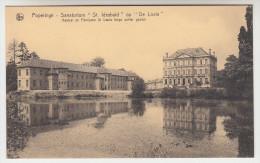 Poperinge, Poperinghe, Sanatorium St Idesbald op de Lovie, kasteel en paviljoen St Louis langs achter gezien (pk22498)