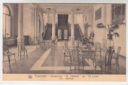 Poperinge, Poperinghe, Sanatorium St Idesbald op de Lovie,  Hall, wachtzaal  (pk22500)