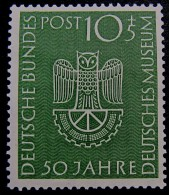 GERMANY 1953 - 50th. ANNIVERSARY DEUTCHES MUSEUM IN MUNICH - [7] Federal Republic