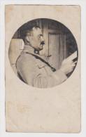 PHOTO ORIGINALE 18 JUIN 1919 MILITAIRE N° 19 SUR LE COL - VOIR TEXTE AU VERSO - 2 Scans - - Guerre, Militaire