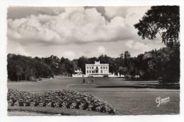 LE TOUQUET PARIS PLAGE-1961-Le Jardin D´Ypres Et Le Petit Château,---cachet Le Touquet-- Golf.. - Le Touquet