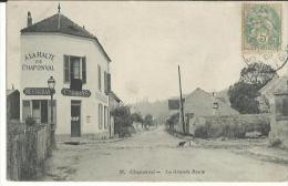 Chaponval - La Grande Route 1905 - France