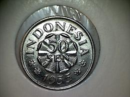 Indonesie 50 Sen 1955