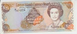Cayman Island 25 Dollars 1996 Pick 19 UNC