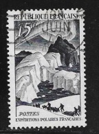 N° 829  FRANCE OBLITERE  -  EXPEDITION POLAIRE PAUL EMILE VICTOR  -  1949 - France