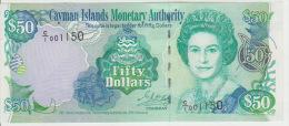 Cayman Island 50 Dollars 2001 Pick 29a UNC