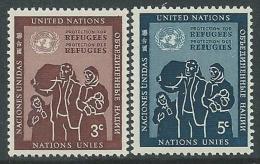 1953 NAZIONI UNITE ONU NEW YORK RIFUGIATI MNH ** - VA51 - Ungebraucht