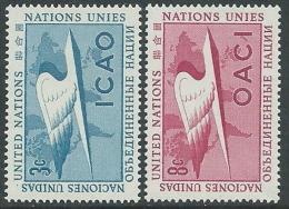1955 NAZIONI UNITE ONU NEW YORK ICAO MNH ** - VA51 - New York - Sede De La Organización De Las NU