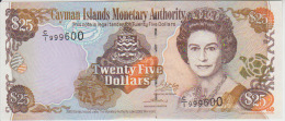 Cayman Island 25 Dollars 2003 Pick 31 UNC