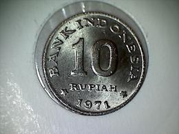 Indonesie 10 Rupiah 1971