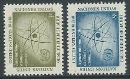 1958 NAZIONI UNITE ONU NEW YORK ENERGIA ATOMICA MNH ** - VA51 - Ungebraucht