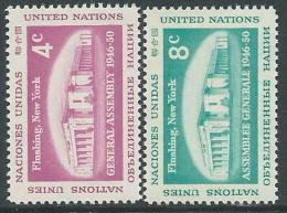 1959 NAZIONI UNITE ONU NEW YORK ASSEMBLEA A FLUSHING MNH ** - VA51 - Ungebraucht
