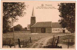 Massemen, Kerk Westerzijde En Oude Hoeve (pk21294) - Wetteren