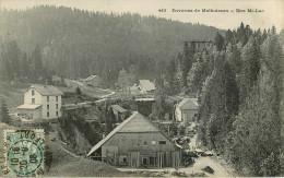 Dép 25 - Scieries - Bois - Scierie Au Premier Plan ? - Environs De Malbuisson - Biez Mi Lac - 2 Scans - état - Frankrijk