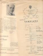 NOTICIARIO DEL TEATRO LIRICO SINTETICO DE LA CIUDAD DE BUENOS AIRES DE ABRIL DE 1945 PEQUEÑO DIARIO ESPECIALIZADO TOTALM - Programmi