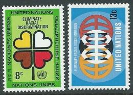 1971 NAZIONI UNITE ONU NEW YORK RAZZISMO MNH ** - VA52 - New York -  VN Hauptquartier