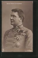 Foto-AK General Kövess Von Kövesshaza Mit Diversen Orden - Personnages Historiques
