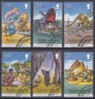 Alderney MiNr. 314/19 O Kinderbuchillustrationen Von Rudyard Kipling - Alderney