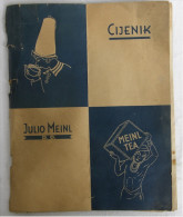 Catalog - Julius Meinl - Coffee, Tea, Cocoa, Chocolate ... 1934.