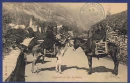 """FFF - CPA HAUTES-PYRENEES (65) - PAYSANNES DES PYRENEES - CACHET """"HOTELLERIE DU PONT D'ESPAGNE - M.V. COURTADE"""" - Unclassified"""