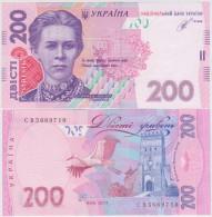 Ukraine 200 Hryvna 2014 Pick 123 UNC Sign Kubiv - Ukraine