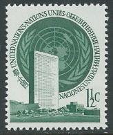 1951 NAZIONI UNITE ONU NEW YORK SOGGETTI DIVERSI 1 1/2 CENT MNH ** - VA48 - New York - Sede De La Organización De Las NU