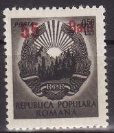 ROMANIA 1952. MH, Mi 1324 - 1948-.... Repubbliche