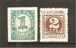 España/Spain-(MNH/**) - Edifil  914-15 - Yvert  653-54 - 1931-Hoy: 2ª República - ... Juan Carlos I