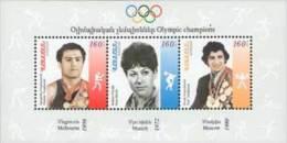 Armenia 2010. Mih. Block 38 Olympic Champions. S/S MNH ** - Arménie