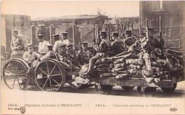 1914 - Japonais Arrivant à TSINAUFU (Chine) - War 1914-18