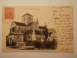 Carte Postale - NUITS (21) - Eglise St Symphorien (176/1000) - Nuits Saint Georges