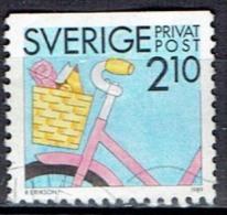 SWEDEN  # FROM 1989  STANLEY GIBBONS 1445 - Oblitérés