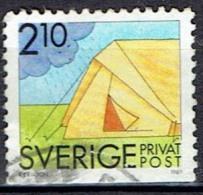 SWEDEN  # FROM 1989  STANLEY GIBBONS 1448 - Oblitérés