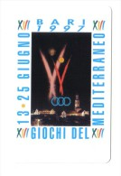 Bari 1997 Giochi Del Mediterraneo 15000 Nuove Cod.schede.062 - Pubbliche Pubblicitarie