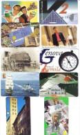 Lotto 10 Schede Telefoniche Nuove 5000+10000 Lire Tot 60000 Lire Cod.schede.064 - Italy