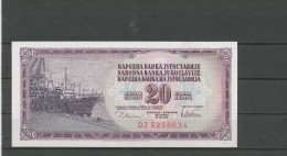 YOUGOSLAVIE: 20 DINARA NEUF - Yougoslavie