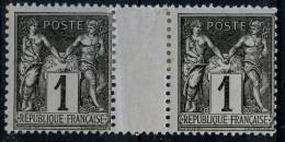 France Sans Millesime N 83 * (charniere)