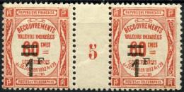 France Taxe Millesime 5 N 53 ** (Luxe)