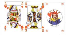 Jolly Re Regina Nuove 2000+10000+10000  Lire Cod.schede.065 - Public Advertising