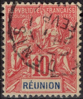 REUNION  47 (o)  Type Groupe Cachet Saint-Denis [ColCla] - Gebruikt