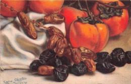 """02174 """"FRUTTA - NATURA MORTA - TRATTA DA UN DIPINTO DEL PITTORE CARLO CHIOSTRI - FIRENZE"""".   CART. POST.   NON SPED. - Paintings"""