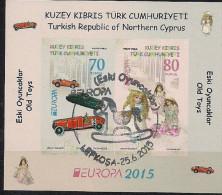 2015 TÜRK- ZYPERN  TURKEY - CYPRUS Bloc  Used - Europa-CEPT