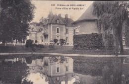 C P A---76---Château De BOIS-HIMONT---place D'eau Ett Pignon Est---voir 2 Scans - Francia