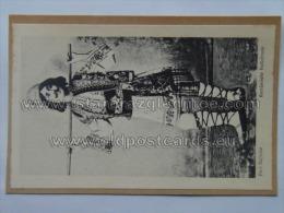 Romania 138 Costume Taped To Paper Ed Saraga Szhwartz - Romania
