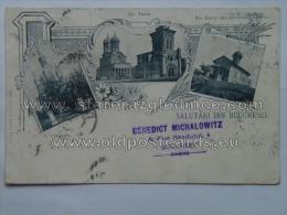 Romania 189 Bucuresci As Litho Michalowitz - Rumänien