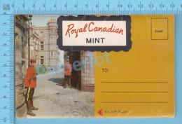Ottawa , Ontario ( Folder Royal Canadian Mint , 12 Images Dépliant Fabrication De La Monaie )   Post Card 6 Scans - Métiers