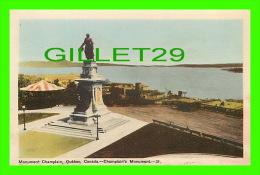 QUÉBEC - MONUMENT CHAMPLAIN - CHAMPLAIN'S MONUMENT - PECO - - Québec - La Cité