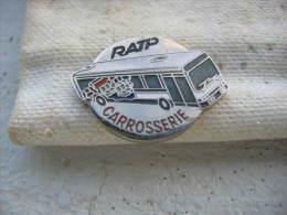 Pin´s Du Secteur Carrosserie De La RATP - Transportation