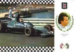 Jackie Oliver   -  Shadow DN1/1a    -  Monaco Grand Prix  - Serie Gran Prix No 69  -  Carte Postale - Grand Prix / F1