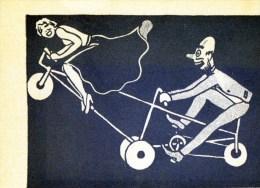 55Hy   Cyclisme Brunoy (91) En Foret De Senart Aux Velos De Gervaise Spectacle N°3 Coquin Sous La Jupe - Cartes Postales